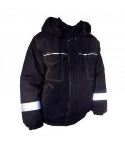 Siltā jaka ar kapuci SJ216, ūdens atgrūdošs audums