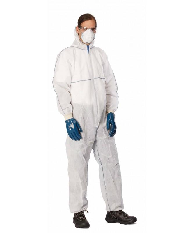 Kombinezons vienreizējas lietošanas ķīmiskās aizsardzības