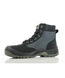 Augstas kvalitātes biezas ādas darba apavi, ūdens necaurlaidīgi, metāla purngals un starpzole, S3 klase, DAKAR