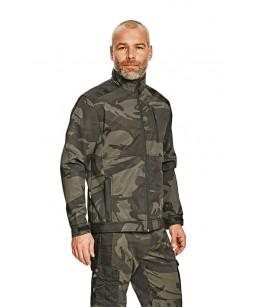 Softshell auduma jaka , kamuflāža