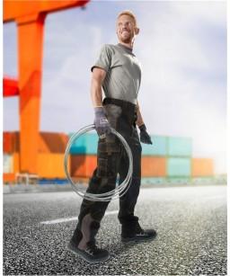 Kvalitātes un sportiska dizaina darba bikses ARDON VISION, 60 % Poliesters/ 40 % Kokvilna, 260 g/m2
