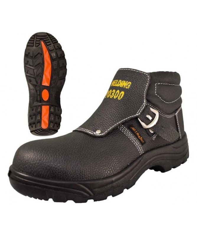 Ādas metinātāju apavi, mitrumizturīgi S3