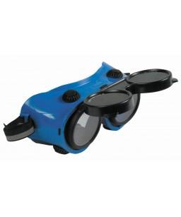 Metinātāju brilles ar paceļamo filtru