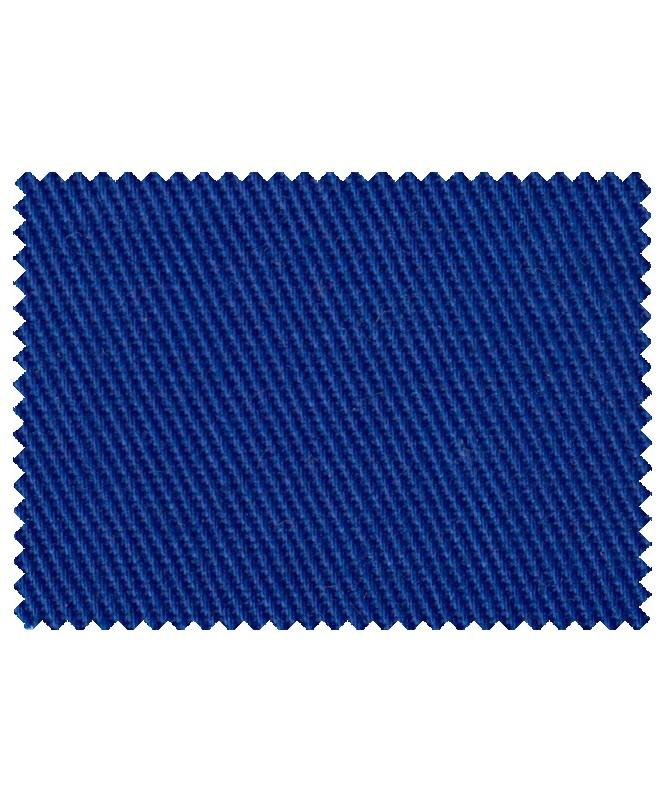 65% Poliesters 35 % Kokvilna audums, 240 g/m2, gaiši zils