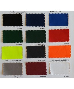 Auduma krāsu varianti