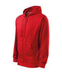 Attaisāms Džemperis  ar Kapuci TRENDY, sarkans