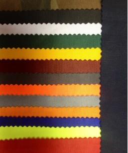 audumu krāsu paraugi