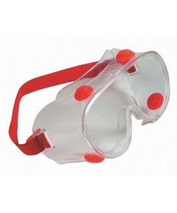 Brilles polikarbonāta slēgtas ar elastīgo gumiju un gaisa vārsdtuļiem