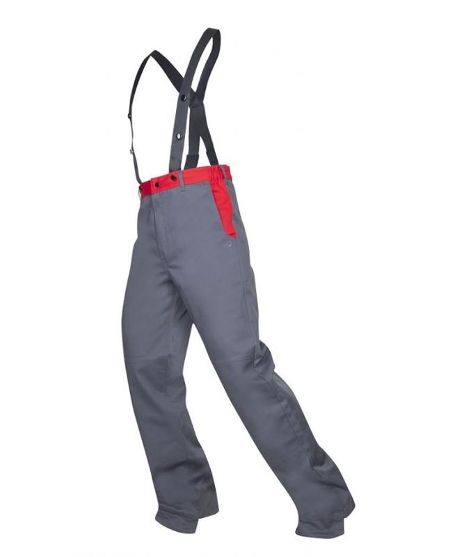 Metināšanas bikses profesionāļiem ar papildus lencēm, Antiflame ugunsizturīga apdare, 100% kokvilna, 300 g / m² , MATTHEW