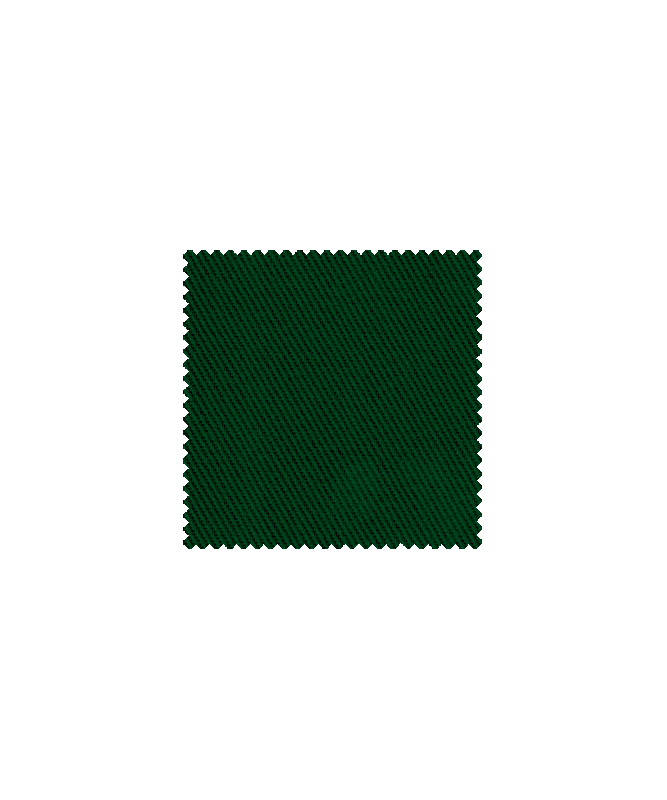 ETNA  Antiflame Audums  350g/m2| 99% Kokvilna , 1% Antistatisks diegs | Satīns 4/11 Zaļš