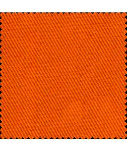 ETNA  Antiflame Audums  350g/m2| 99% Kokvilna , 1% Antistatisks diegs | Satīns 4/11 Orandžs