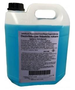 Dezinfekcijas līdzeklis 4L rokām un virsmām