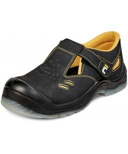 Black knight ādas sandales S1