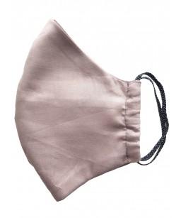 Kokvilnas divslāņu Sejas Maska, smilšu krāsā