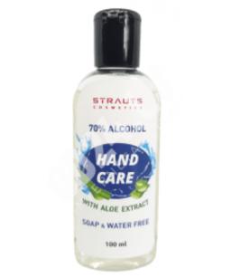 Lietošanai gatavs roku dezinfekcijas līdzeklis  ar aloe vera ekstraktu 100 ml