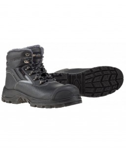 Warm, comfortable and durable work shoes Leptev2.