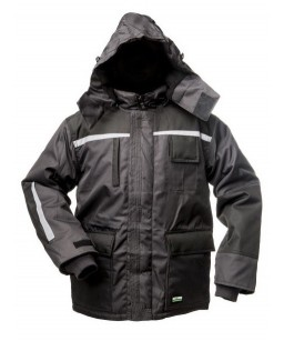 Теплая зимняя куртка с...