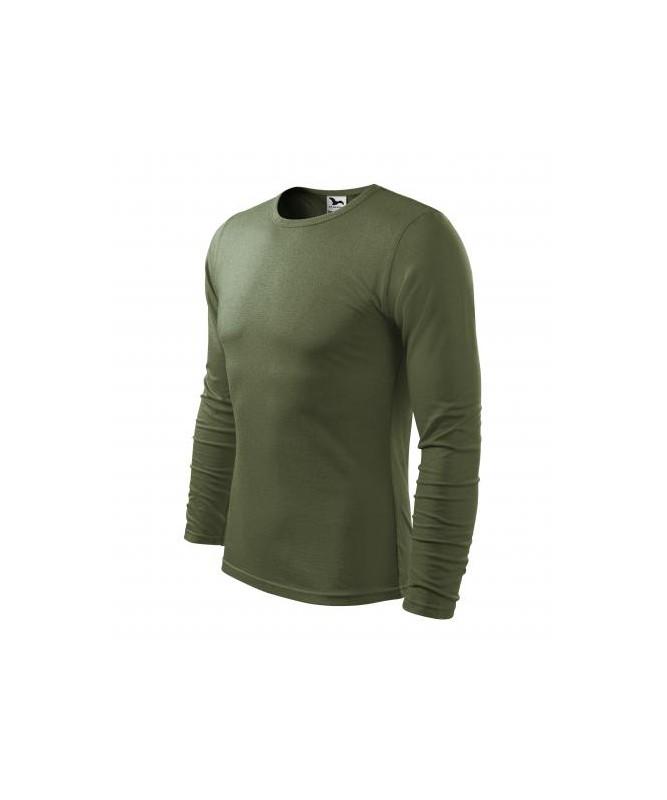 Krekls ar Garām Piedurknēm LS119,Khaki