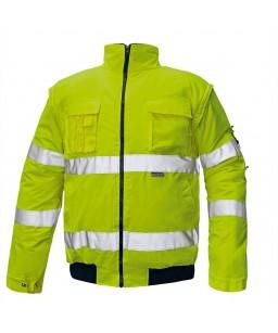 CLOVELLY siltā jaka ar noņemamām piedurknēm