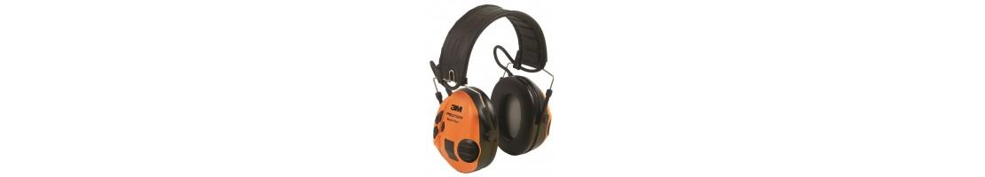 Dzirdes aizsardzība, Ausu Aizsardzība, Skaņas klusinātāji slāpētāji