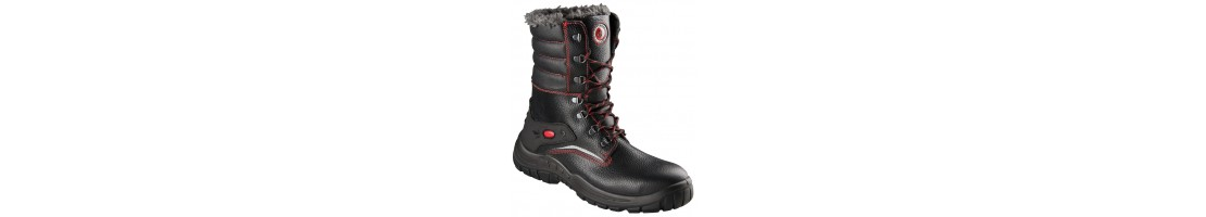 Winter footwear, winter boots, warm safety shoes, winter work shoes,