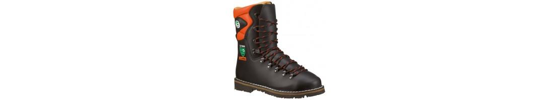 Speciālie apavi, meža apavi, kokgāzēju zābaki, asfalta apavi,