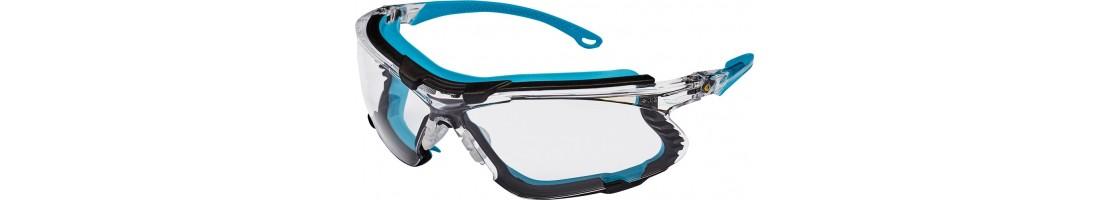 Aizsardzības brilles, brilles ar gumiju, sportiskas brilles,