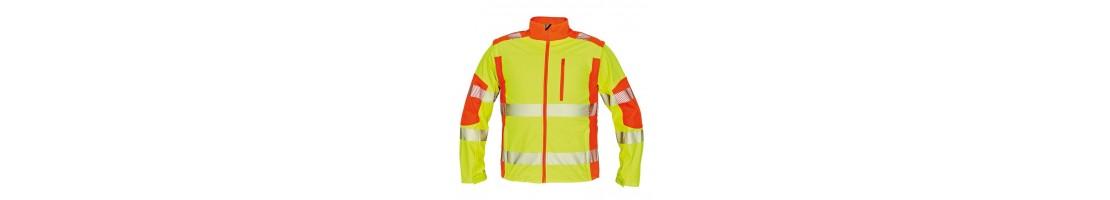 Siltināts augstas redzamības apģērbs, Hi-Vis darba apģērbs