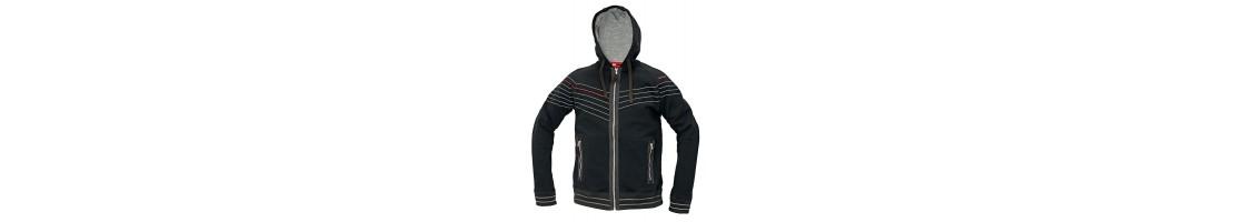 Sweatshirts and fleece jackets