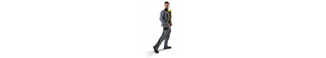 Darba apģērbi, darba jakas, bikses, puskombinezoni