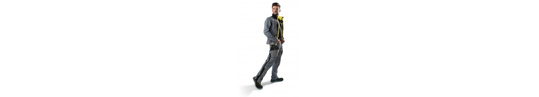 Workwear, work jackets, pants, bib pants and overalls
